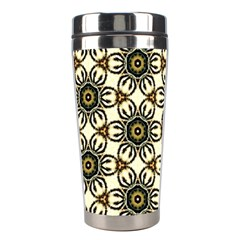 Faux Animal Print Pattern Stainless Steel Travel Tumblers by creativemom