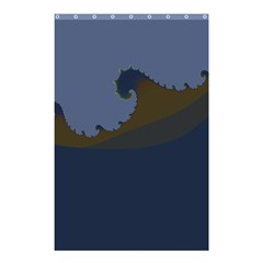 Ocean Waves Shower Curtain 48  X 72  (small)  by theunrulyartist