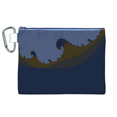 Ocean Waves Canvas Cosmetic Bag (xl)  by theunrulyartist