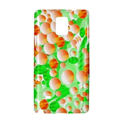 Bubbles Samsung Galaxy Note 4 Hardshell Case by JDDesigns
