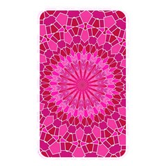 Pink And Red Mandala Memory Card Reader by LovelyDesigns4U