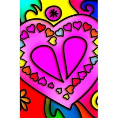 Colorful Modern Love 5 5  X 8 5  Notebooks by MoreColorsinLife