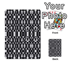Black And White Geometric Tribal Pattern Multi Purpose Cards (rectangle)  by dflcprints