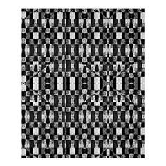 Black And White Geometric Tribal Pattern Shower Curtain 60  X 72  (medium)  by dflcprints