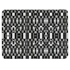 Black And White Geometric Tribal Pattern Samsung Galaxy Tab 7  P1000 Flip Case by dflcprints