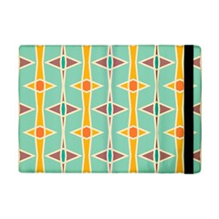 Rhombus Pattern In Retro Colors 			apple Ipad Mini 2 Flip Case by LalyLauraFLM