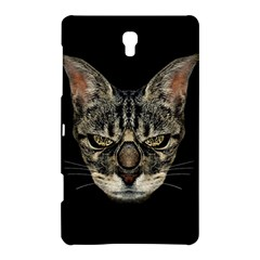 Angry Cyborg Cat Samsung Galaxy Tab S (8 4 ) Hardshell Case  by dflcprints