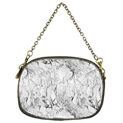 White Marble Chain Purses (One Side)  by ArgosPhotography