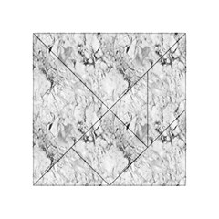 White Marble Acrylic Tangram Puzzle (4  x 4 ) by ArgosPhotography