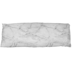 White Marble 2 Body Pillow Cases Dakimakura (Two Sides)  by ArgosPhotography