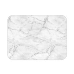 White Marble 2 Double Sided Flano Blanket (mini)