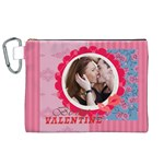 lover - Canvas Cosmetic Bag (XL)