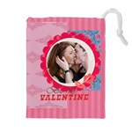 love - Drawstring Pouch (XL)