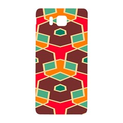Distorted Shapes In Retro Colorssamsung Galaxy Alpha Hardshell Back Case by LalyLauraFLM