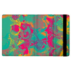Fading Circles			apple Ipad 2 Flip Case by LalyLauraFLM