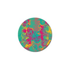 Fading Circles			golf Ball Marker by LalyLauraFLM