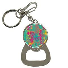 Fading Circlesbottle Opener Key Chain by LalyLauraFLM