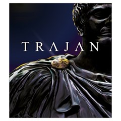 Trajan By Thomas Covert   Drawstring Pouch (medium)   Rco1d7esc134   Www Artscow Com Back