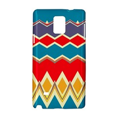 Chevrons and rhombus			Samsung Galaxy Note 4 Hardshell Case by LalyLauraFLM