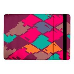Pieces In Retro Colorssamsung Galaxy Tab Pro 10 1  Flip Case by LalyLauraFLM