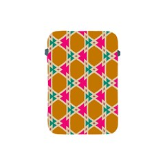 Connected Shapes Patternapple Ipad Mini Protective Soft Case by LalyLauraFLM