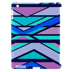 Angles And Stripes			apple Ipad 3/4 Hardshell Case (compatible With Smart Cover) by LalyLauraFLM