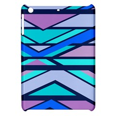 Angles And Stripes			apple Ipad Mini Hardshell Case by LalyLauraFLM