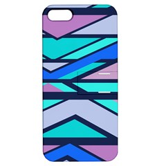Angles And Stripesapple Iphone 5 Hardshell Case With Stand by LalyLauraFLM