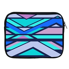 Angles And Stripesapple Ipad 2/3/4 Zipper Case by LalyLauraFLM