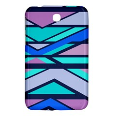 Angles And Stripessamsung Galaxy Tab 3 (7 ) P3200 Hardshell Case by LalyLauraFLM