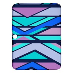 Angles And Stripes			samsung Galaxy Tab 3 (10 1 ) P5200 Hardshell Case by LalyLauraFLM