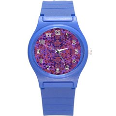 Intricate Patterned Textured  Round Plastic Sport Watch (s) by dflcprints