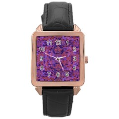 Intricate Patterned Textured  Rose Gold Watches by dflcprints