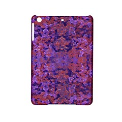 Intricate Patterned Textured  Ipad Mini 2 Hardshell Cases by dflcprints