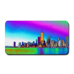 Chicago Colored Foil Effects Medium Bar Mats by canvasngiftshop