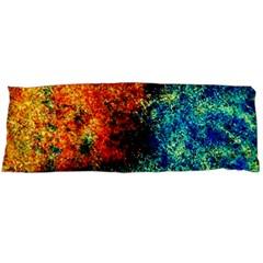 Orange Blue Background Body Pillow Cases Dakimakura (two Sides)  by Costasonlineshop
