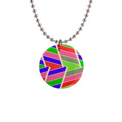 Symmetric Distorted Rectangles			1  Button Necklace by LalyLauraFLM