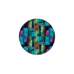 Abstract Square Wall Golf Ball Marker (4 Pack) by Costasonlineshop