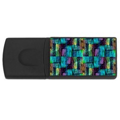 Abstract Square Wall Usb Flash Drive Rectangular (4 Gb)  by Costasonlineshop
