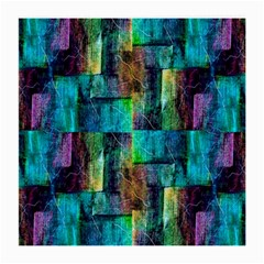 Abstract Square Wall Medium Glasses Cloth (2 Side) by Costasonlineshop