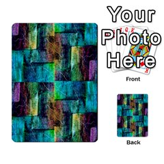 Abstract Square Wall Multi Purpose Cards (rectangle)  by Costasonlineshop