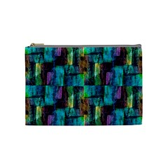 Abstract Square Wall Cosmetic Bag (medium)  by Costasonlineshop
