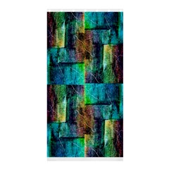 Abstract Square Wall Shower Curtain 36  X 72  (stall)  by Costasonlineshop