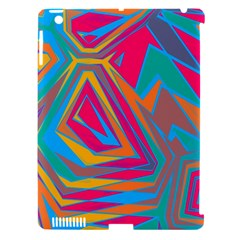 Distorted Shapes			apple Ipad 3/4 Hardshell Case (compatible With Smart Cover) by LalyLauraFLM