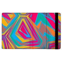 Distorted Shapes			apple Ipad 2 Flip Case by LalyLauraFLM
