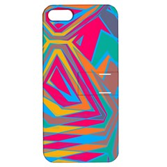 Distorted Shapes			apple Iphone 5 Hardshell Case With Stand by LalyLauraFLM