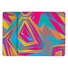 Distorted Shapes			samsung Galaxy Tab 10 1  P7500 Flip Case by LalyLauraFLM