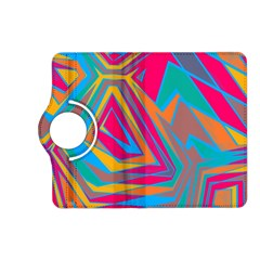 Distorted Shapes			kindle Fire Hd (2013) Flip 360 Case by LalyLauraFLM