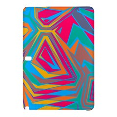 Distorted Shapes			samsung Galaxy Tab Pro 10 1 Hardshell Case by LalyLauraFLM