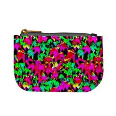 Colorful Leaves Mini Coin Purses by Costasonlineshop